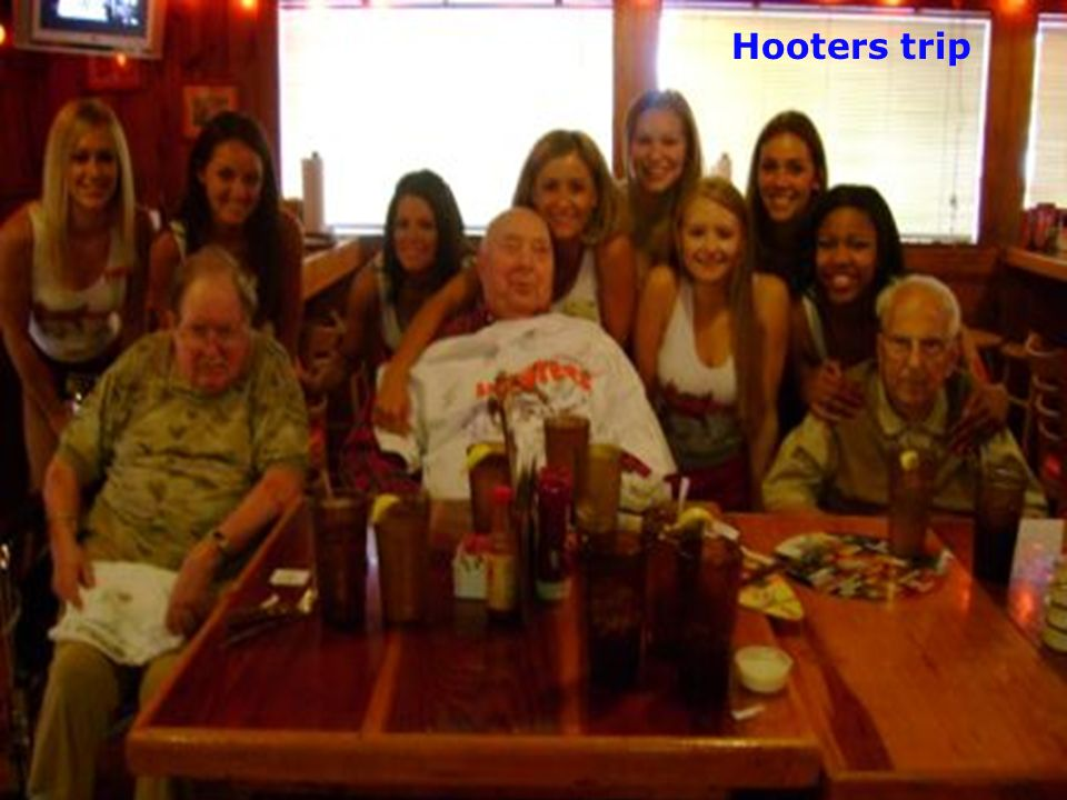 Hooters trip