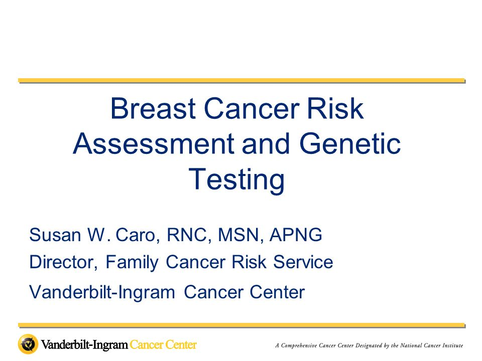 Cumulative Risk of Breast and Ovarian Cancer in BRCA1 and BRCA2 Mutation Carriers From Rebbeck,T; J Clin Oncol 18:100s-103s 2000