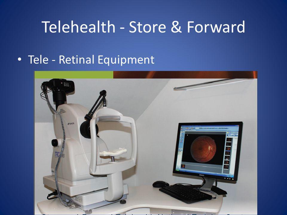 Telehealth - Store & Forward Tele - Retinal Equipment