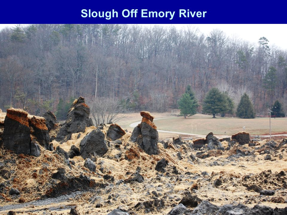 Slough Off Emory River
