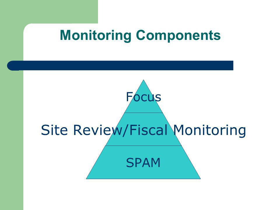 SPAM (System Profile Annual Monitoring) Compliance Consultants will create a system profile for each of their Local Education Agencies (LEAs) by October 15 th An Annual Letter of Compliance Review will be sent to every LEA in December.