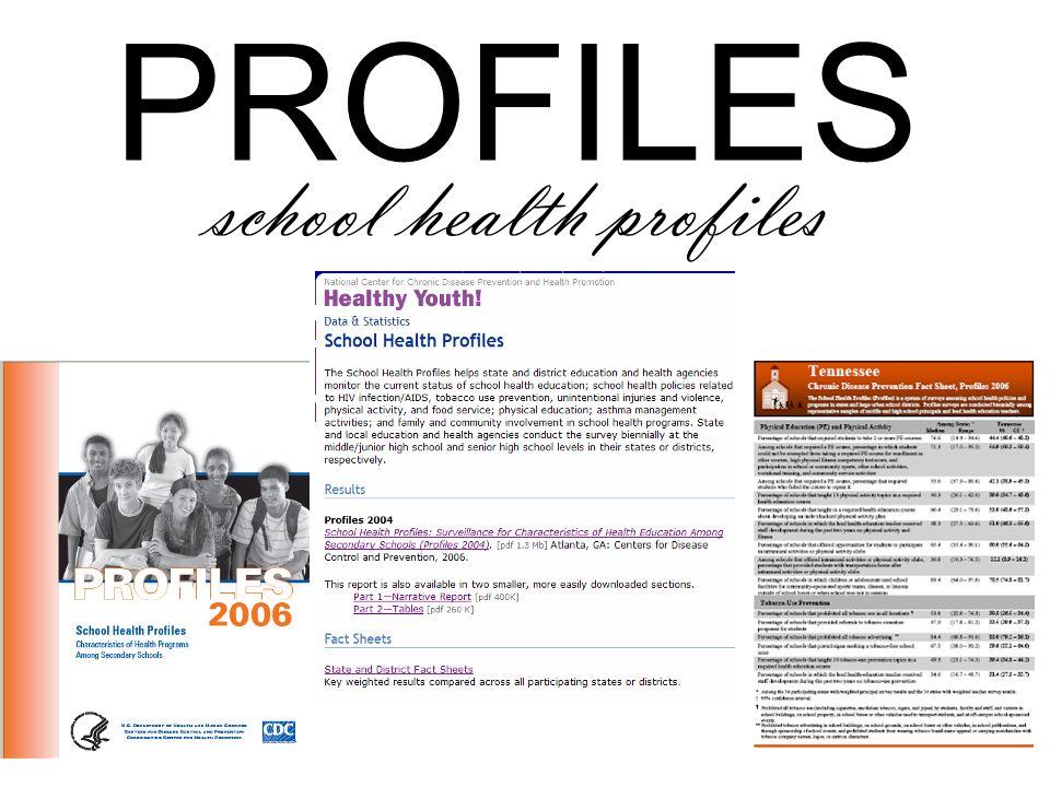 PROFILES school health profiles