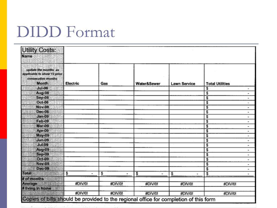 DIDD Format