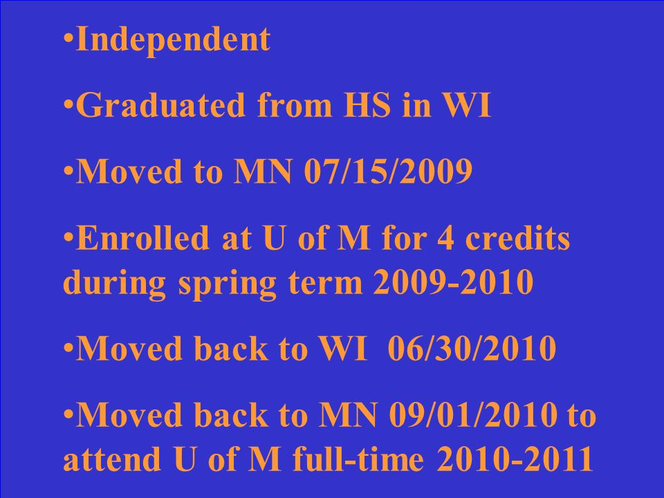 No. If established MN residency by graduating from MN high school, must physically attend MN college if residing in another state.