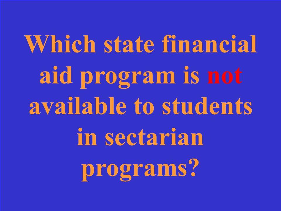 State Grant, MN GI Bill