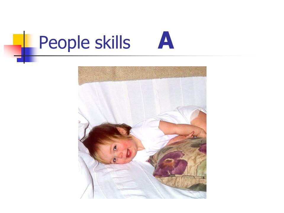 People skills A