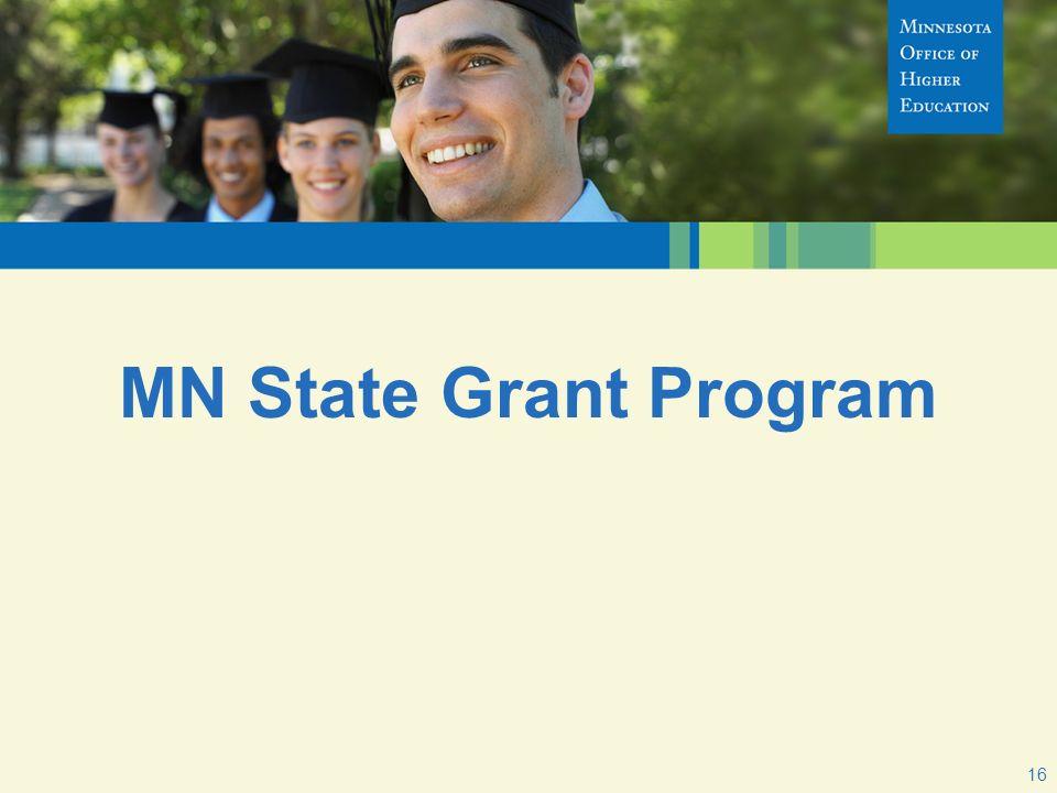 MN State Grant Program 16