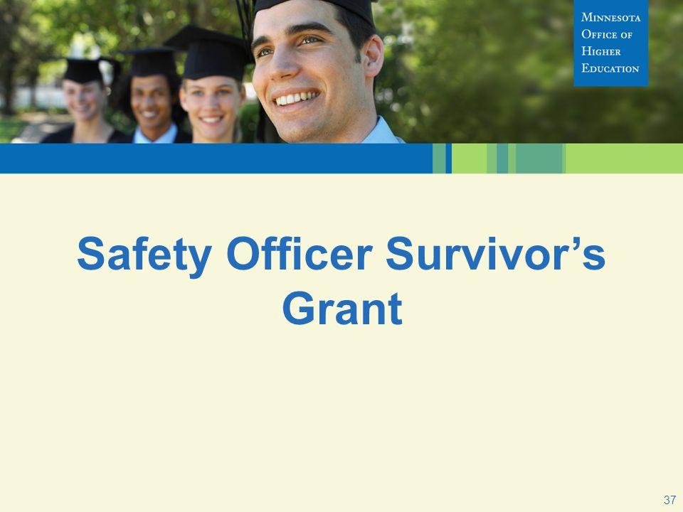 Safety Officer Survivors Grant 37