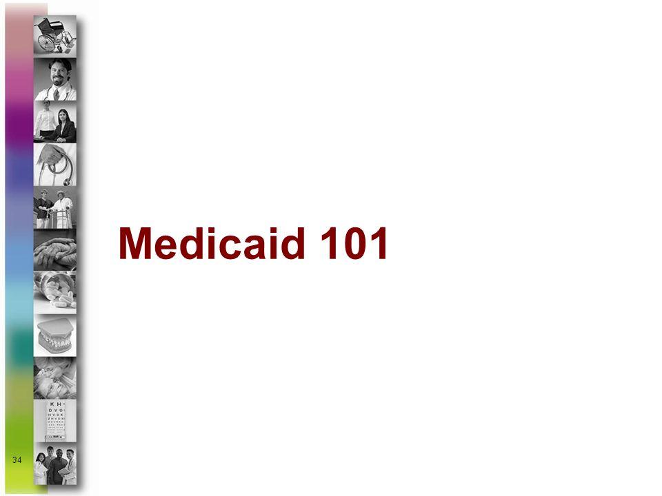 34 Medicaid 101