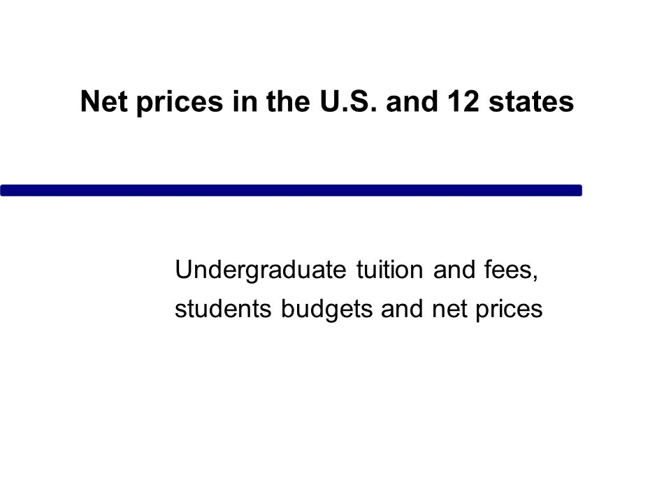 Net prices in the U.S.