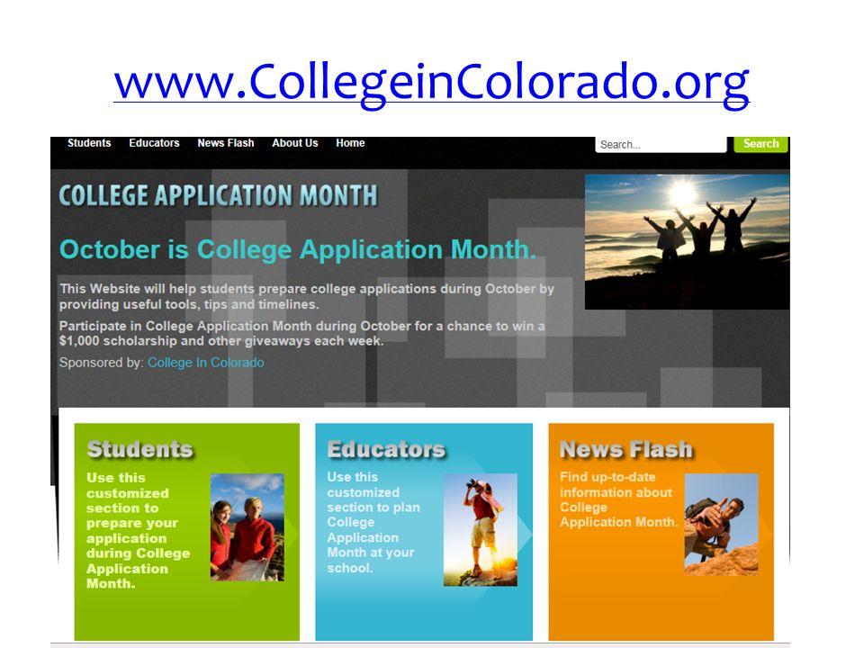 www.CollegeinColorado.org