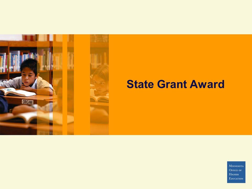 State Grant Award