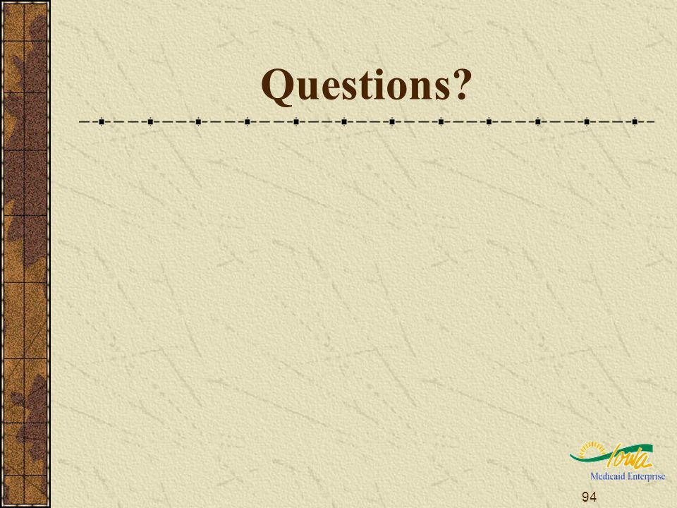 94 Questions