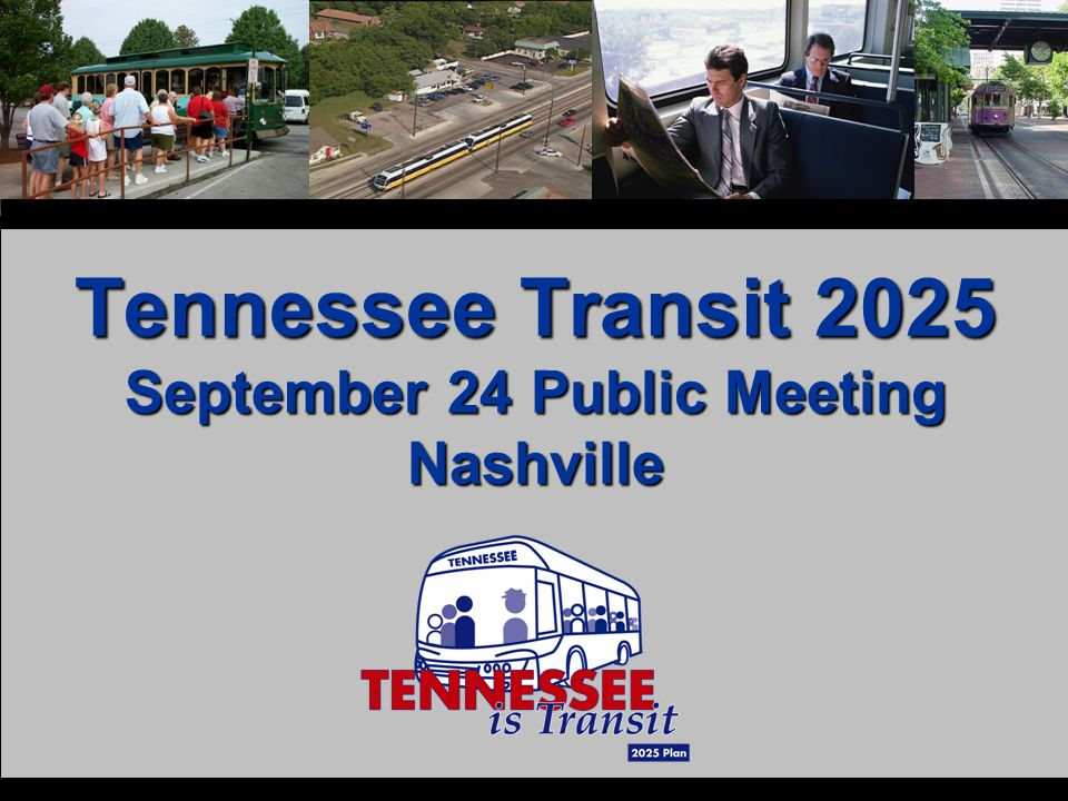 Tennessee Transit 2025 September 24 Public Meeting Nashville