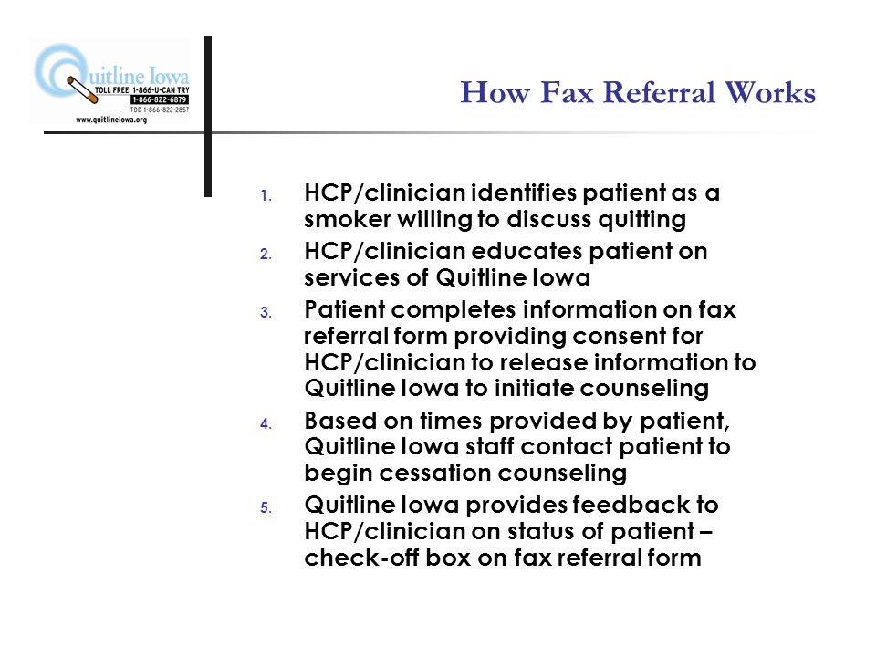 How Fax Referral Works 1.