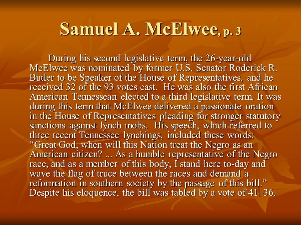 Samuel A.McElwee, p.