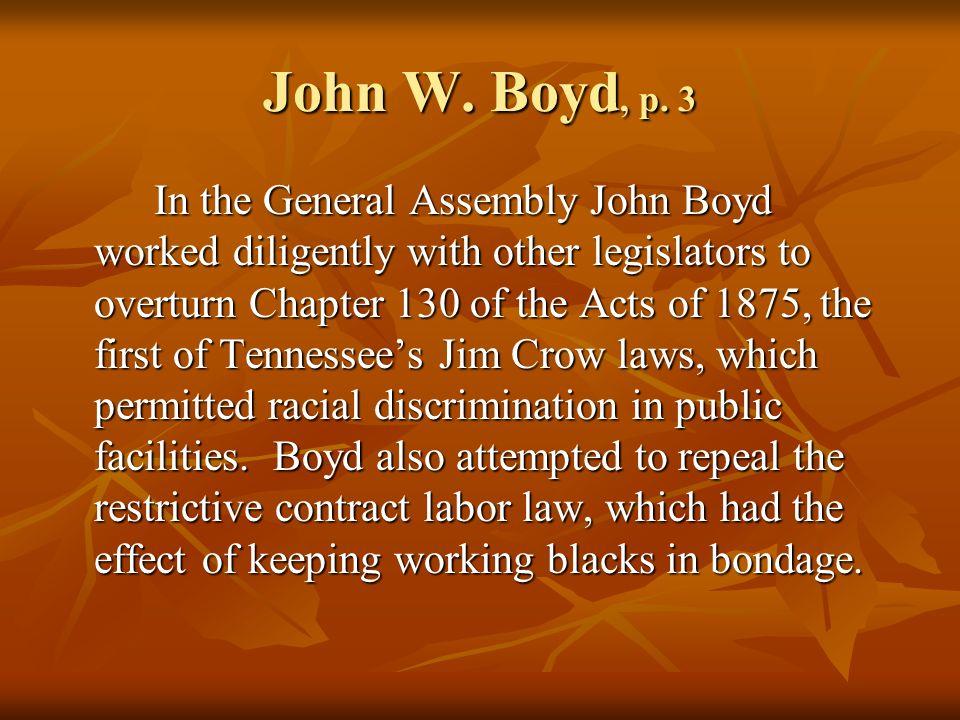 John W. Boyd, p.