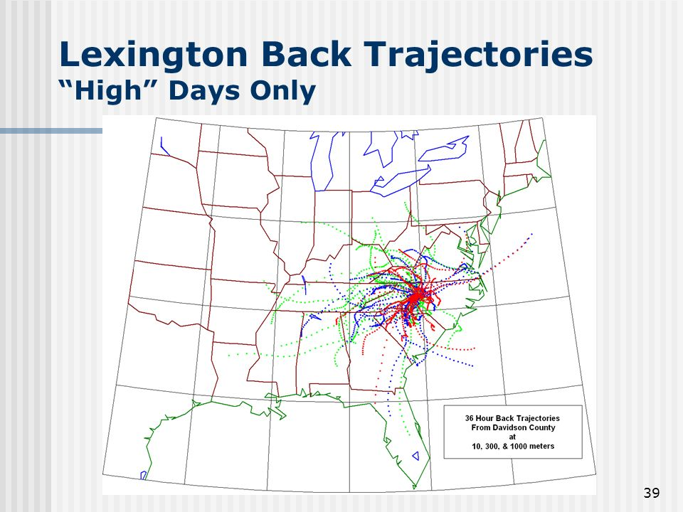 39 Lexington Back Trajectories High Days Only
