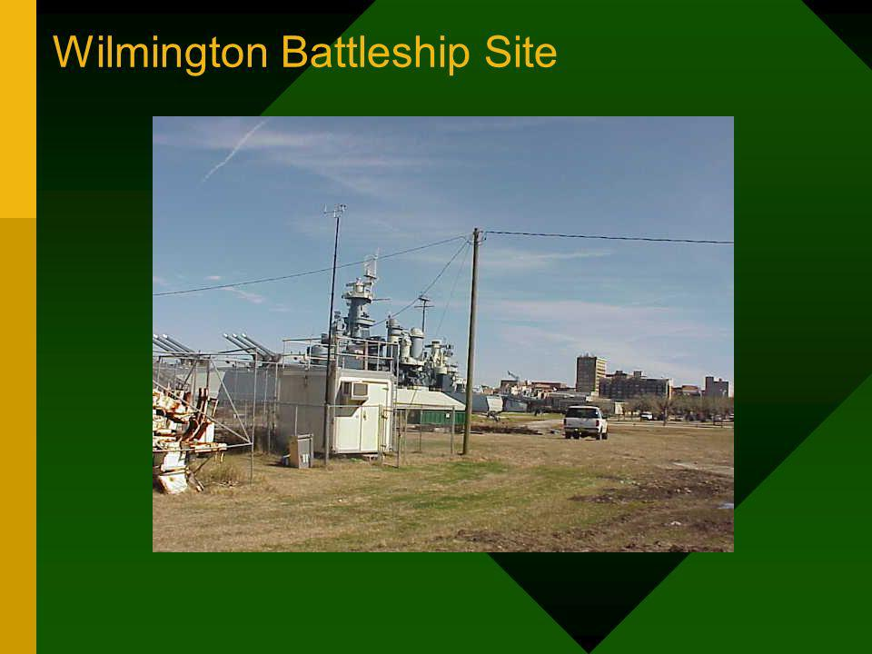 Wilmington Battleship Site
