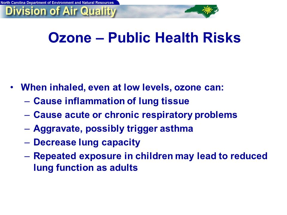 6 Background 8-hour ozone standard –If a monitored design value is > 0.08 ppm (84 ppb), that monitor is violating the standard –The design value is defined as: 3-year average of the annual 4 th highest daily maximum 8-hour average