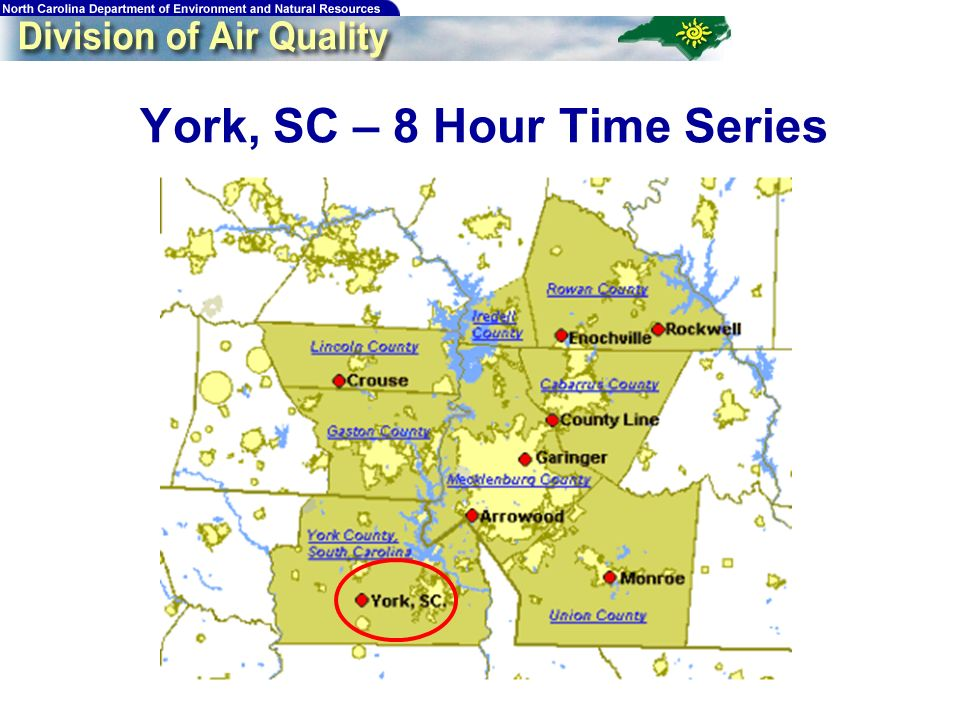 106 York, SC – 8 Hour Time Series