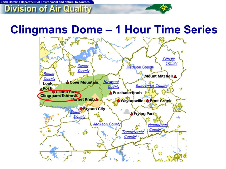 115 Clingmans Dome – 1 Hour Time Series