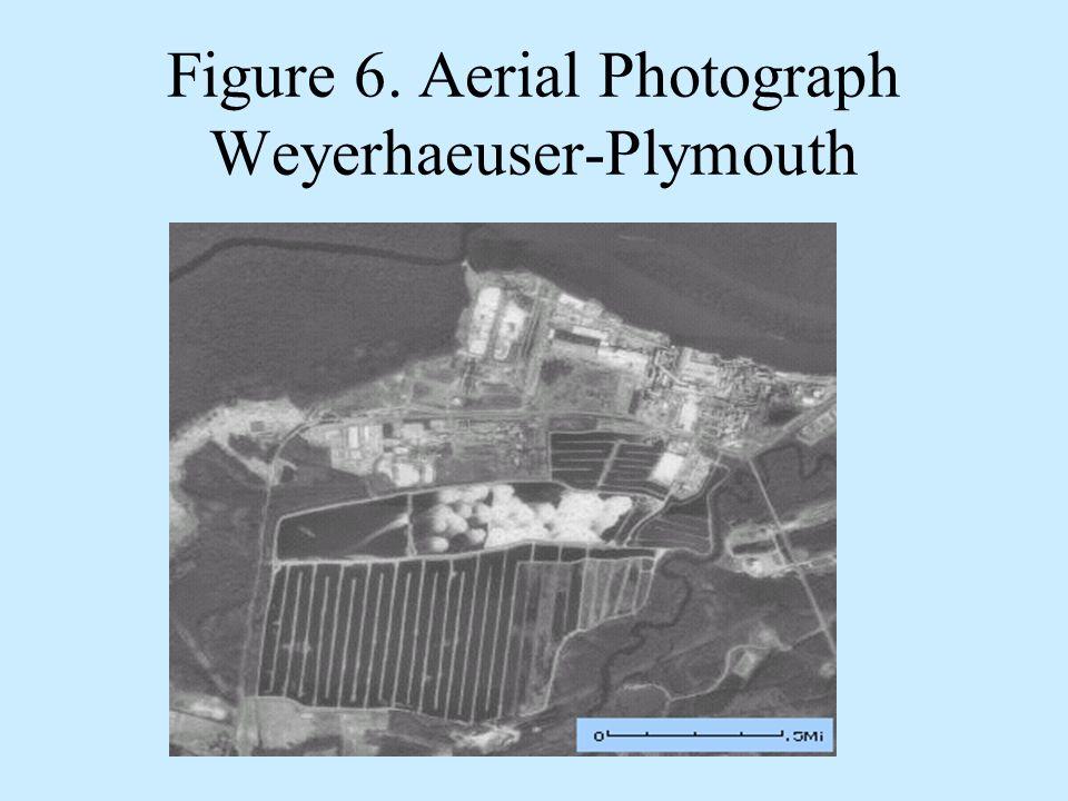 Figure 6. Aerial Photograph Weyerhaeuser-Plymouth