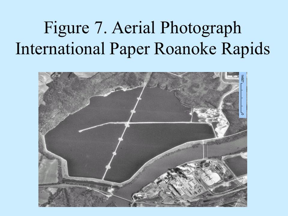 Figure 7. Aerial Photograph International Paper Roanoke Rapids