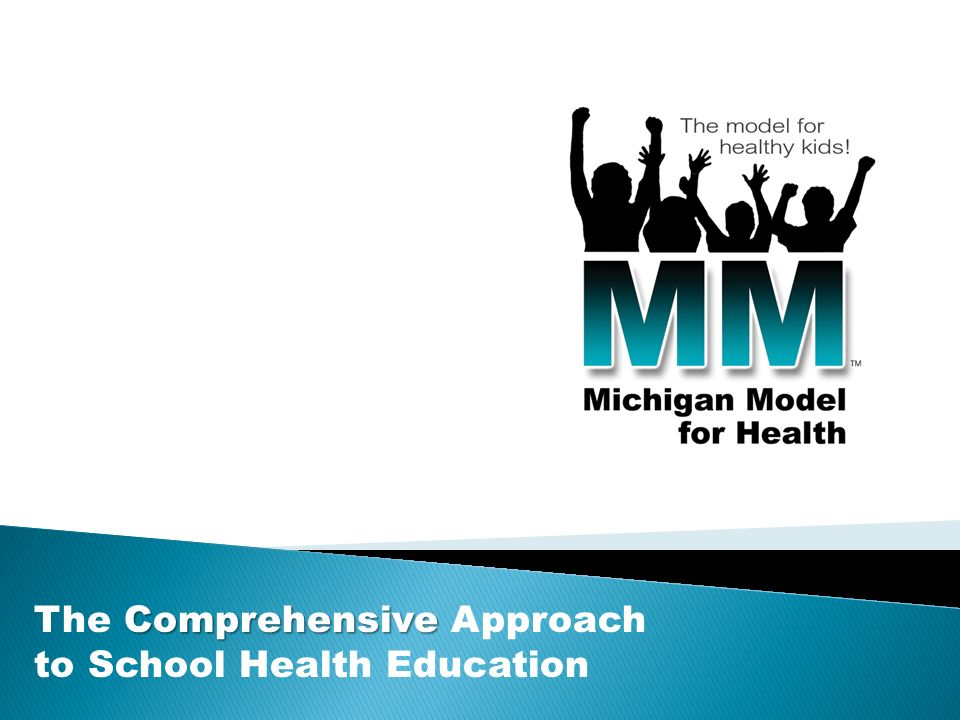 Comprehensive The Comprehensive Approach to School Health Education