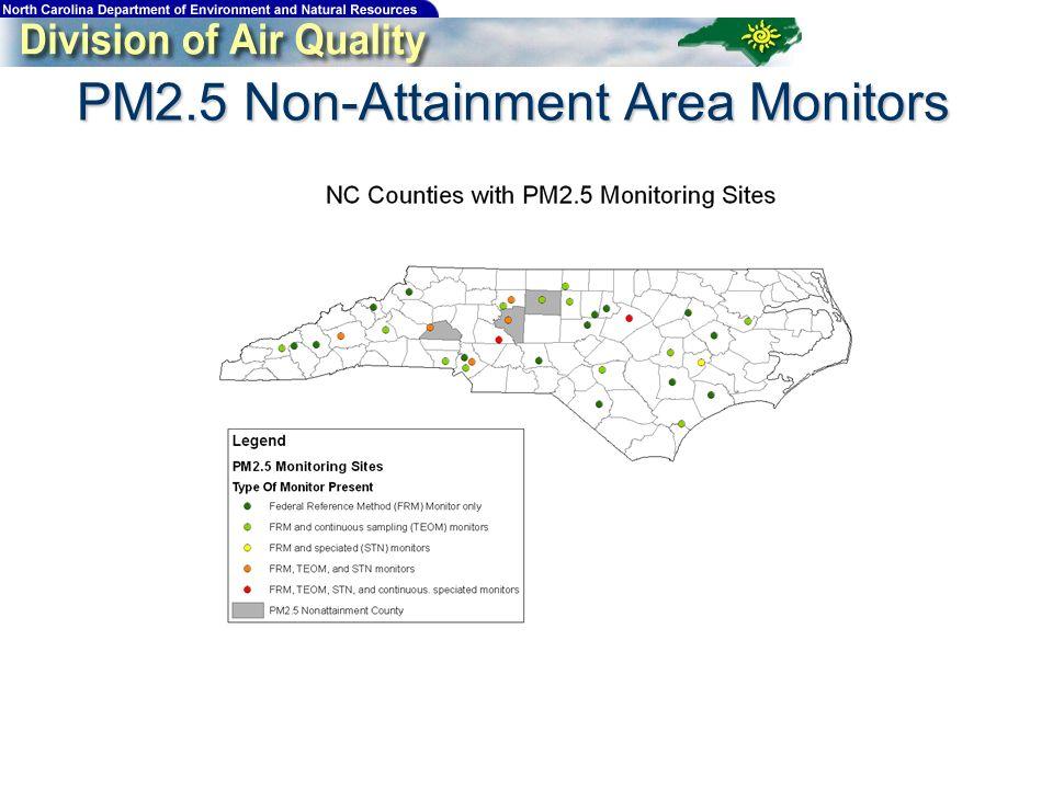PM2.5 Non-Attainment Area Monitors