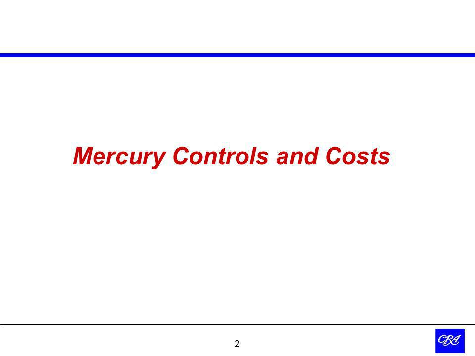 2 Mercury Controls and Costs