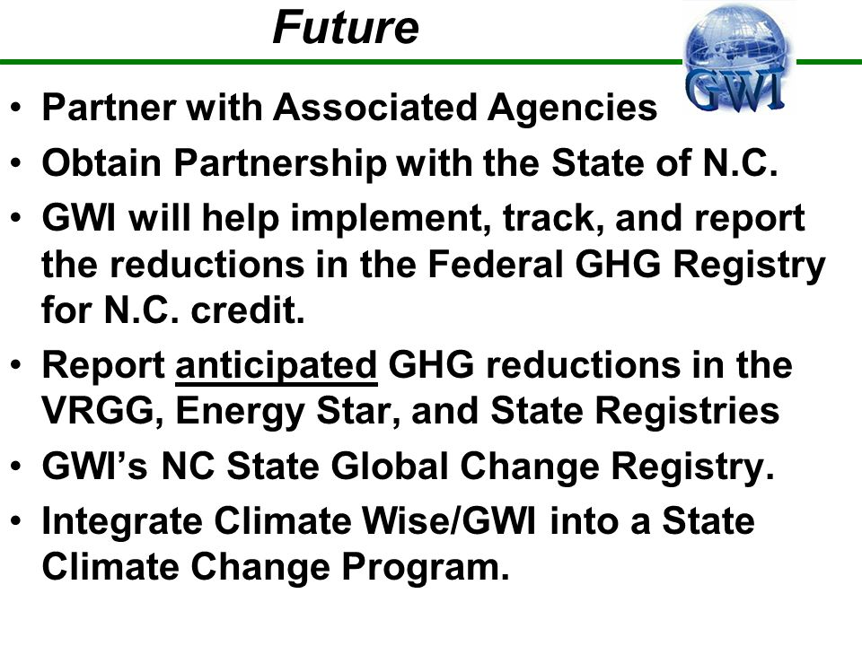 Future Partner with Associated Agencies Obtain Partnership with the State of N.C.