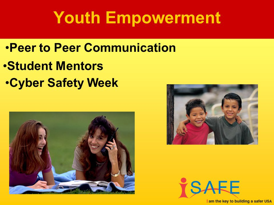 Student Mentors Youth Empowerment Peer to Peer Communication Cyber Safety Week