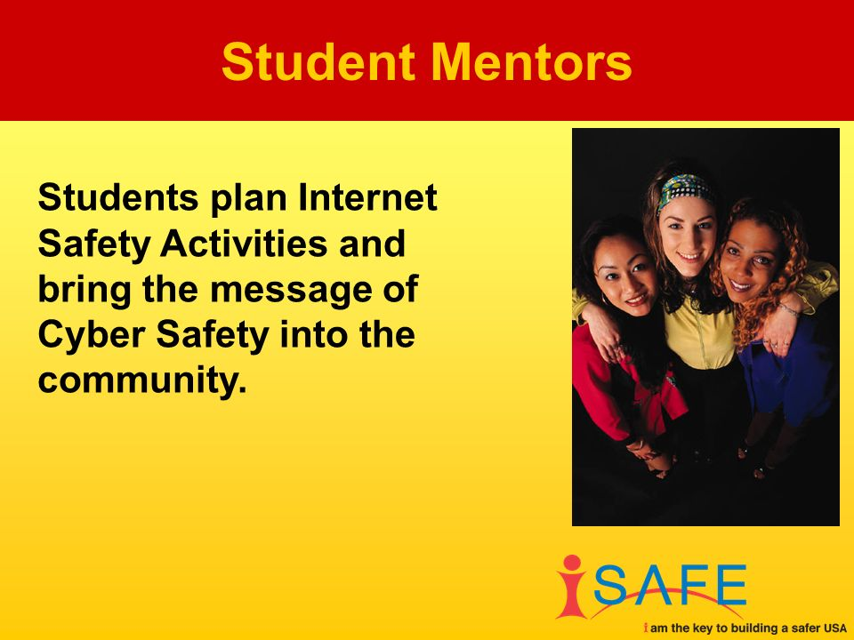 Students plan Internet Safety Activities and bring the message of Cyber Safety into the community.