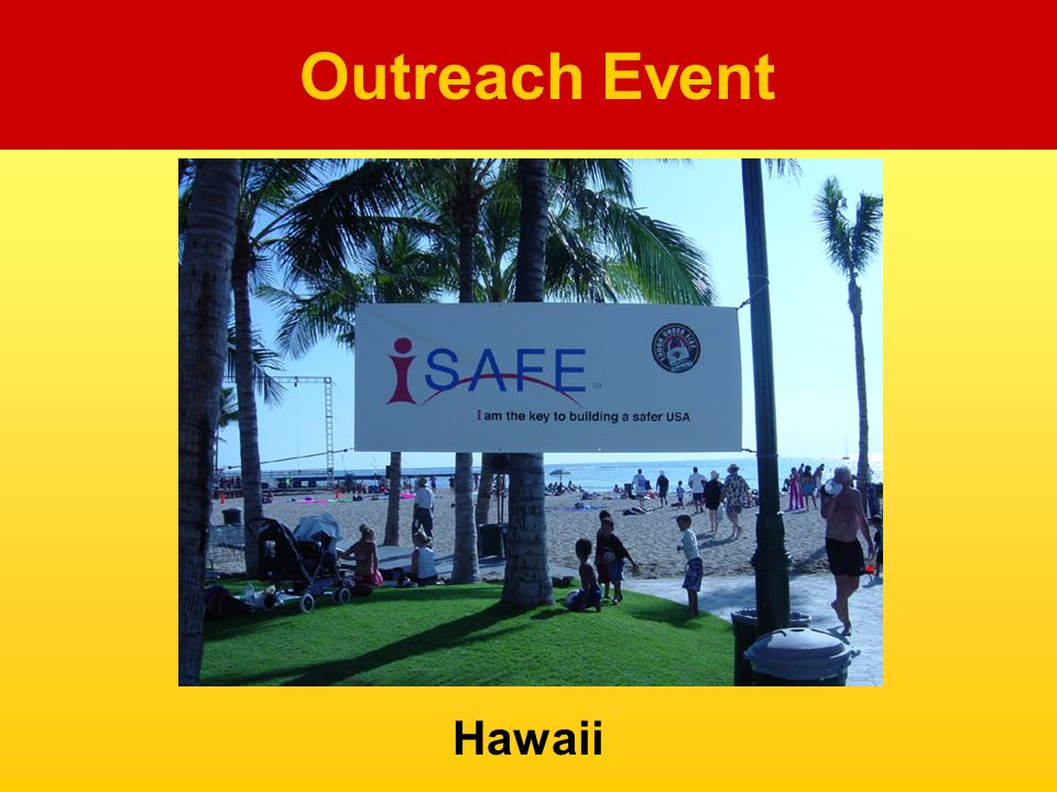 Hawaii Outreach Event