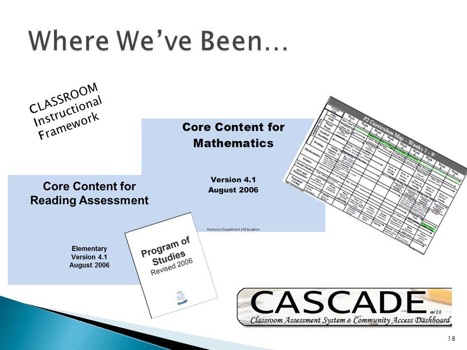 CLASSROOM Instructional Framework 18