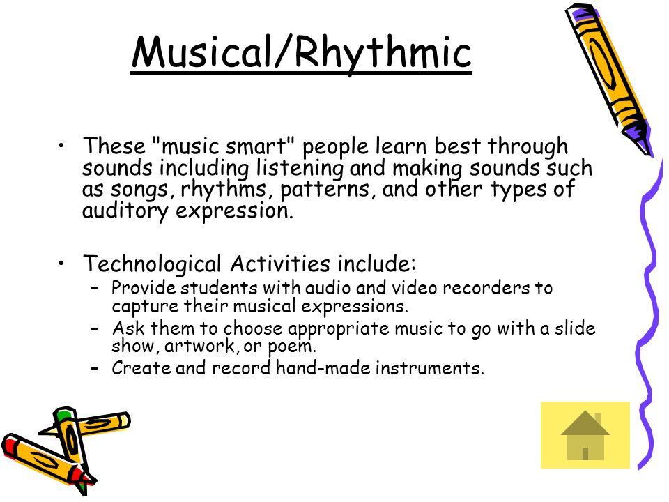 Musical/Rhythmic These