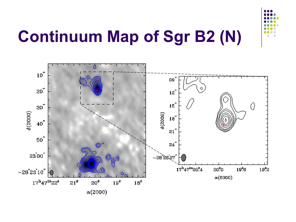 Continuum Map of Sgr B2 (N)
