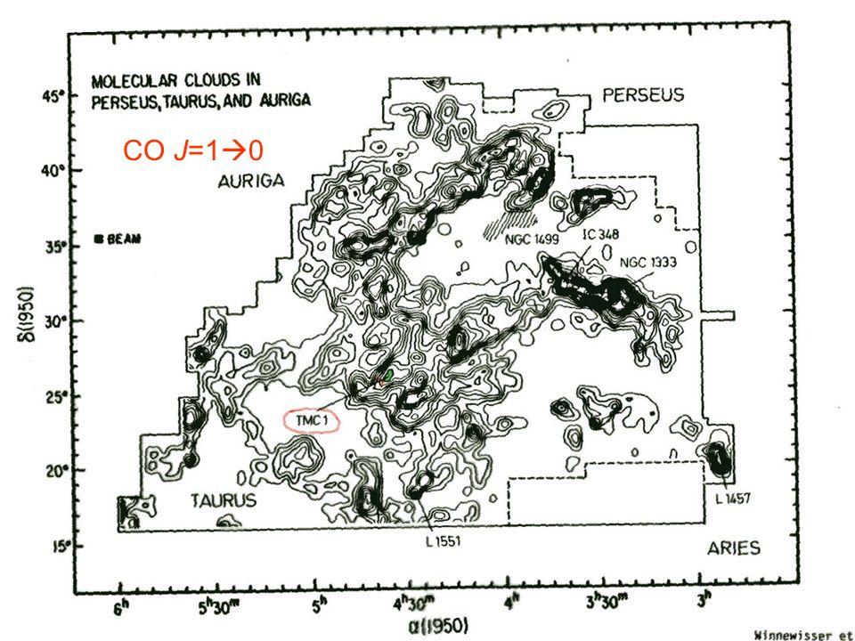 The Case of TMC-1 CO J=1 0