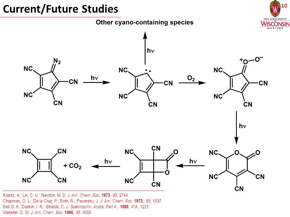 10 Current/Future Studies Krantz, A.; Lin, C. U.; Newton, M.