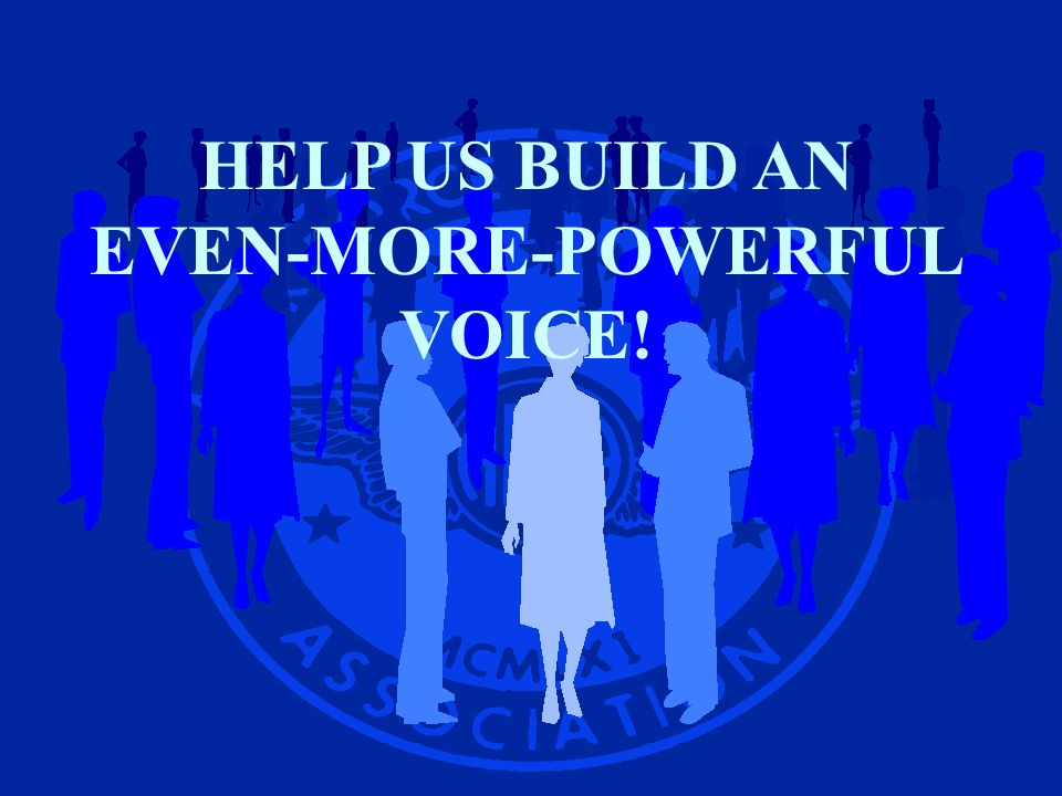 HELP US BUILD AN EVEN-MORE-POWERFUL VOICE!