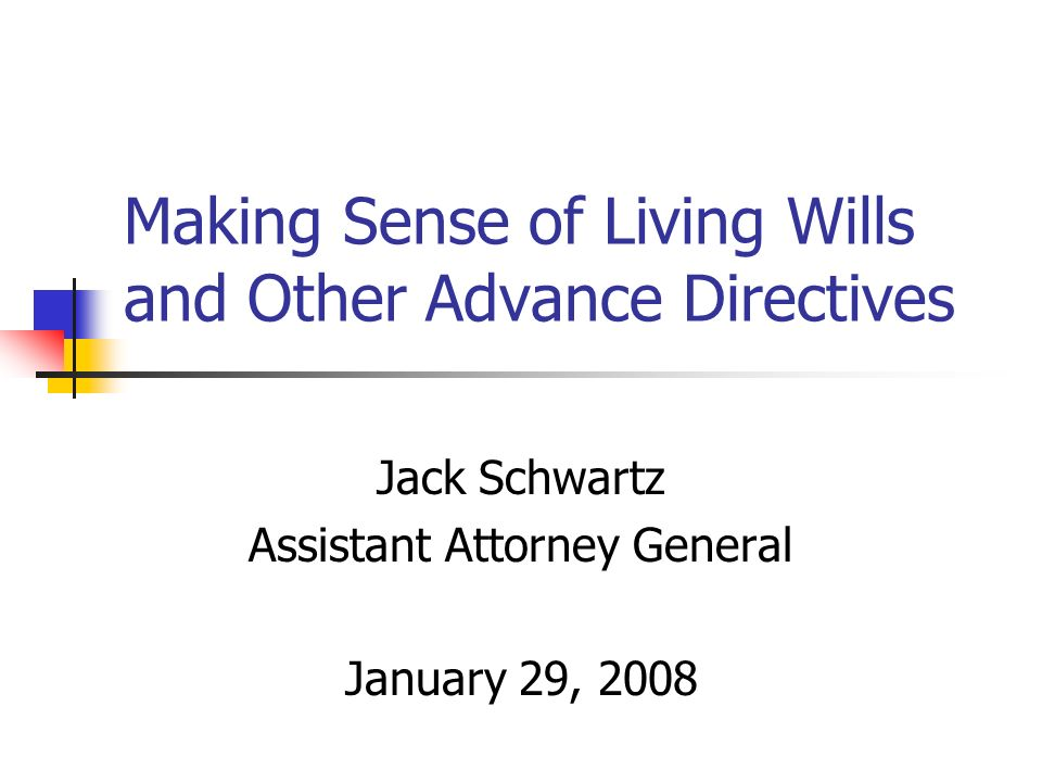 22 More Information: Attorney Generals Office Forms: call 410-576-7000 Forms and other information via the Internet: www.oag.state.md.us Then click on Advance Directives/Living Wills Much other material on Maryland law and policy www.oag.state.md.us Then click on Health Policy