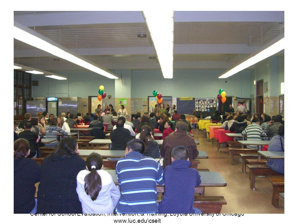 Center for School Evaluation, Intervention, & Training, Loyola University of Chicago www.luc.edu\cseit