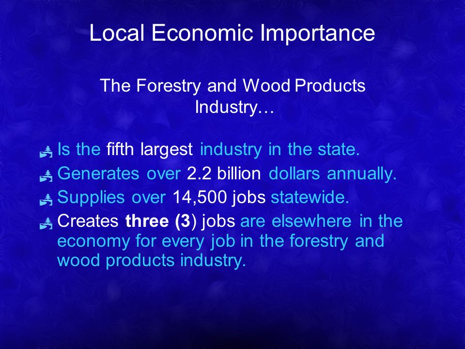 Is the fifth largest industry in the state. Generates over 2.2 billion dollars annually.