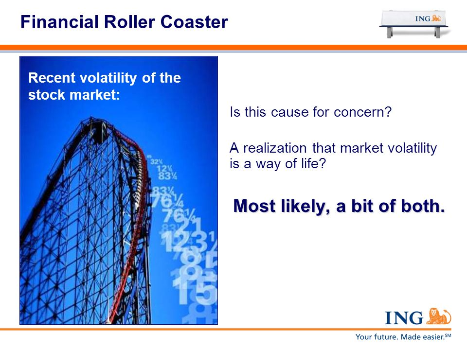 Financial Roller Coaster Is this cause for concern.