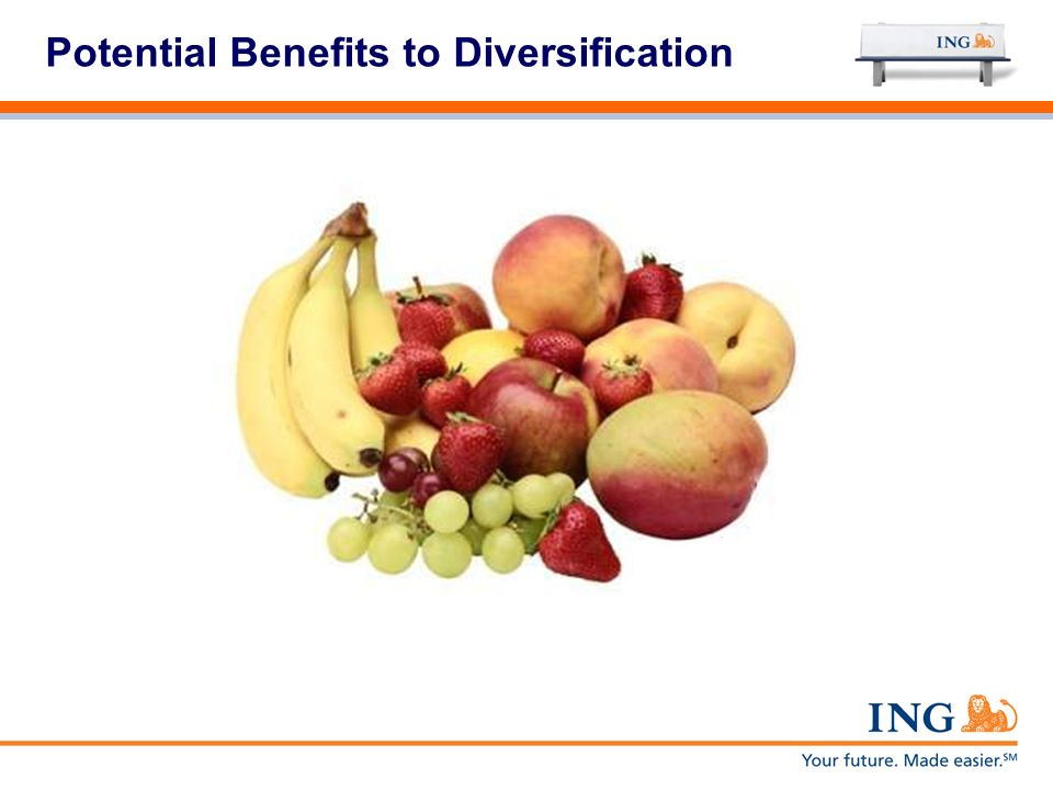 Potential Benefits to Diversification