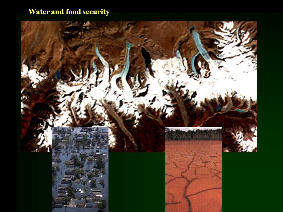 Water and food security