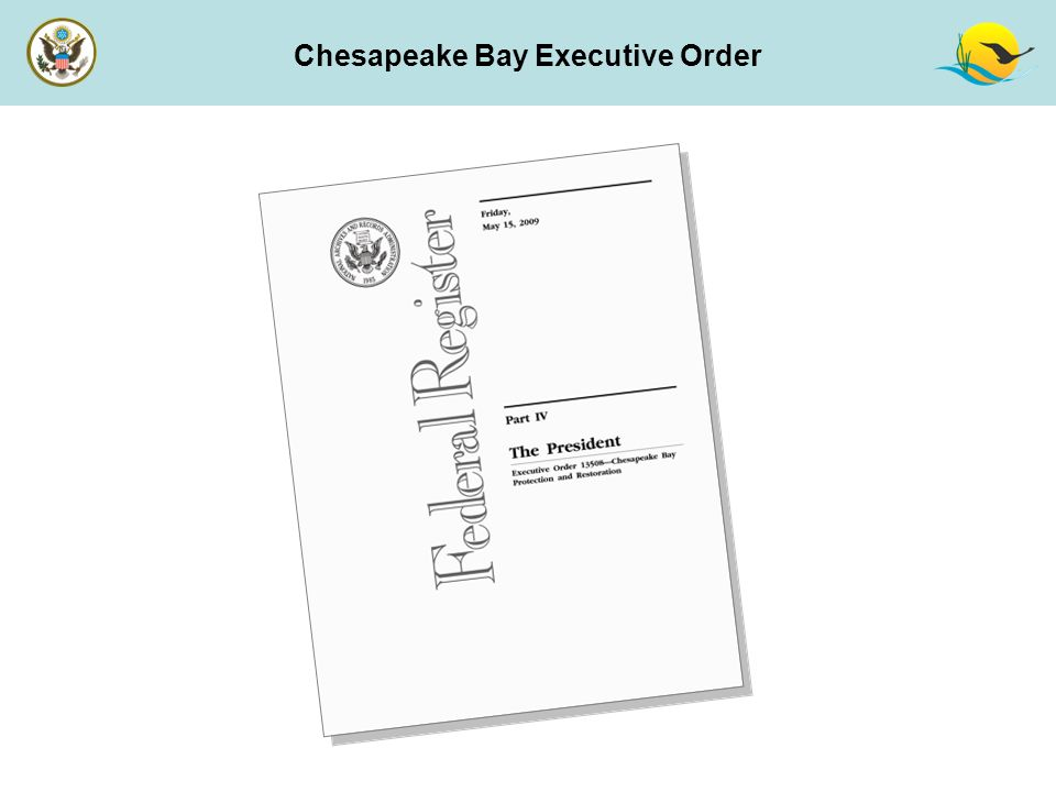 Chesapeake Bay Executive Order