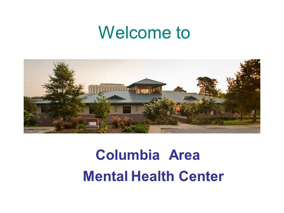 Welcome to AreaColumbia MentalHealthCenter