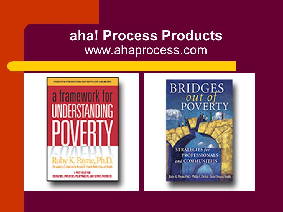 aha! Process Products www.ahaprocess.com